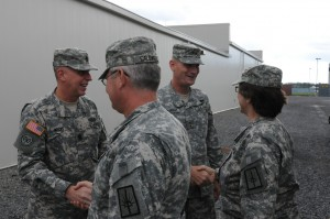 Relief, Hugs Greet Returning 501st Ordnance Battalion Soldiers