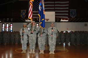 222nd Military Police Company-- The Triple Deuce-- Heads out for Qatar Deployment