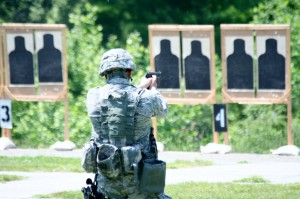 NY National Guard Troops Prep For Shooting Competition