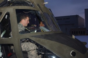 New York National Guardsmen Train Canadian Aviators