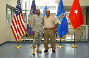 New York National Guard Hosts Top South African General