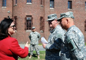 Army's Top Installation Manager Visits New York Army National Guard Facilities