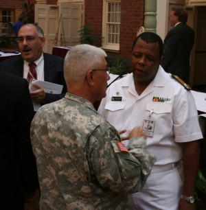 South African Partnership Finds Common Ground, Goals with New York Troops