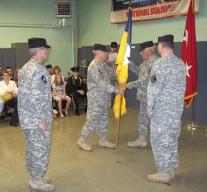 CHANGE OF COMMAND FOR TROY NEW YORK GUARD UNIT