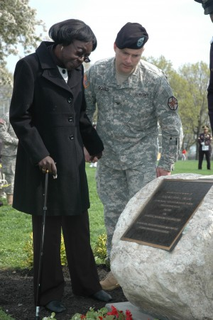City Soldier Enshrined at Ft. Hamilton