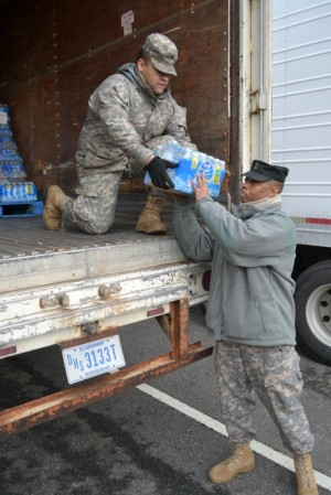 NewYork Guard Volunteers Sustain Hurricane Sandy Response Logistics Effort