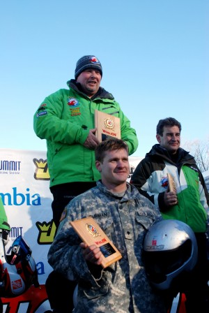 New York Army Guardsmen Share Olympic Style Thrills With the Fastest Men on Four Wheels