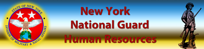 NY National Guard Human Resources Banner