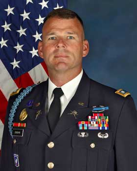 Colonel Christopher R Cronin, Commander, 27th Brigade Combat Team