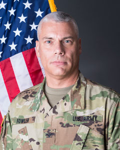 Colonel Michael  Fowler, Commander, 153rd Troop Command