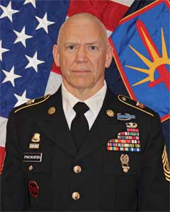Command Sergeant Major David A Piwowarski, New York Army National Guard Command Sergeant Major