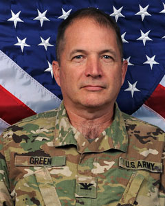 Colonel Richard  Green, Commander, NYARNG Medical Command