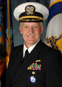 Commander Donald McKnight, Commander, New York State Military Emergency Boat Service
