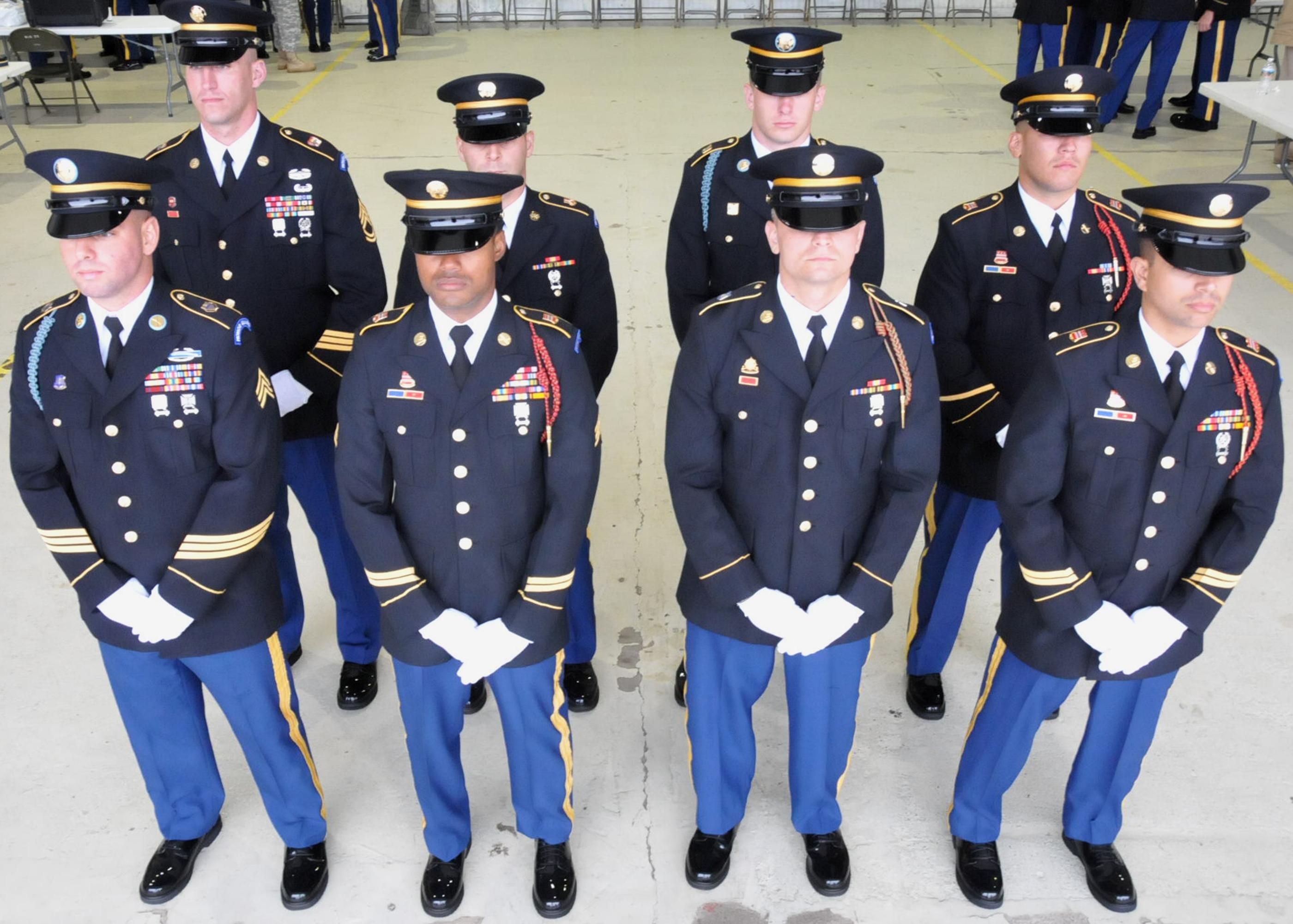 Army national guard uniform