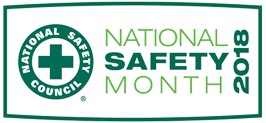 June - National Safety Month graphic