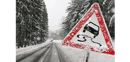 Winter Driving Safety Message graphic