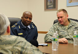 South African Senior Defense Attache Visits the 105th Arilift Wing 2