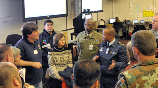 NY SPP - Erie County Emergency Operations Center Tour, November 4, 2009