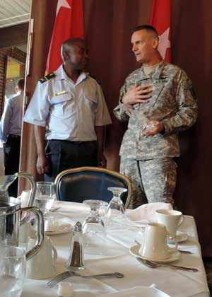 NY SPP - MG Patrick Murphy and BG Mashoro Phala