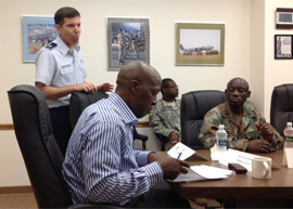NY SPP - SA National Defence Force and NYANG visit - 2 of 2