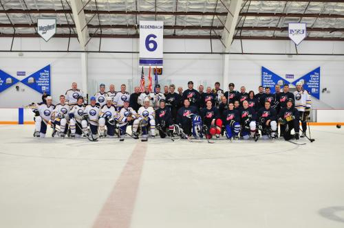 Former Pros and Air Force Amateurs Face off in Hockey Fundraiser