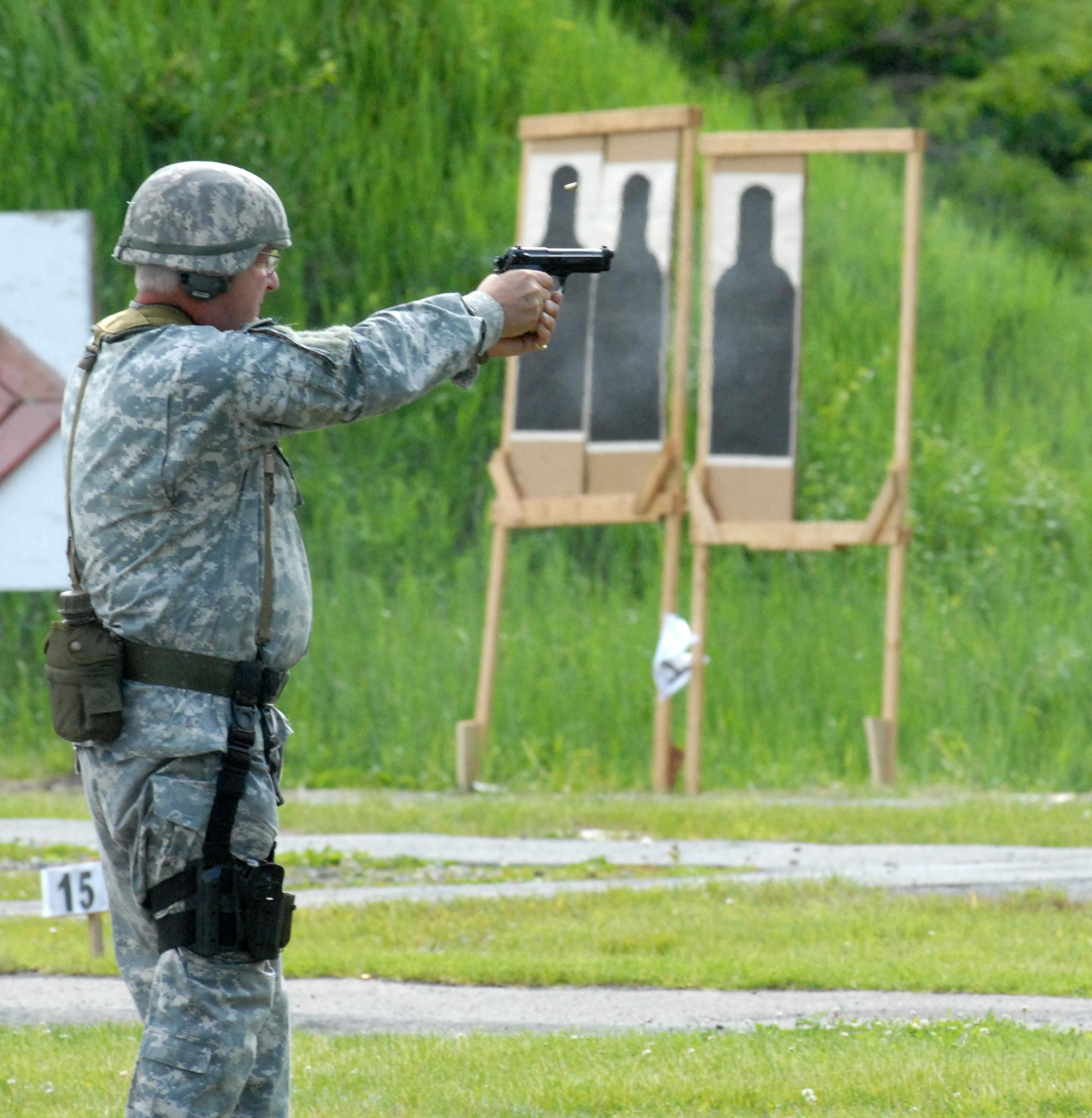 Long Range: New York Guard Member Takes Part in TAG Match for the 25th Time