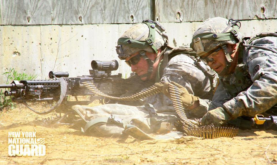 27th Infantry Soldiers Train at Fort Drum