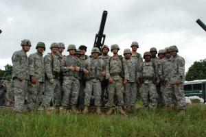 Unit photo of HHB 1 Battalion 258th Field Artillery