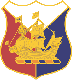 full resolution HHD 53rd Troop Command unit crest