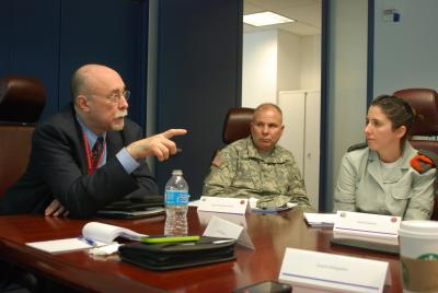 New York Army National Guard Shares Hurricane Lessons Learned with Israeli Homefront Command