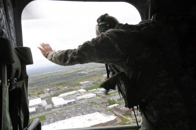 Aviator caps career with final flight in CH-47