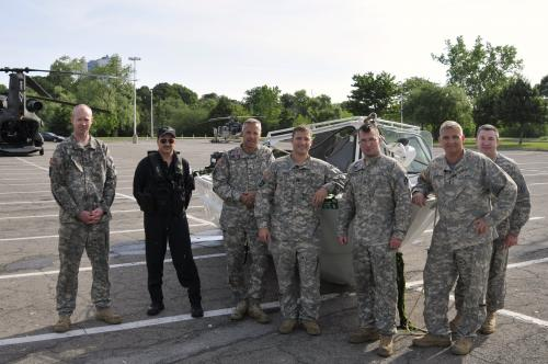 New York National Guard Chinook Crew Retrieves Stuck State Park Police Boat